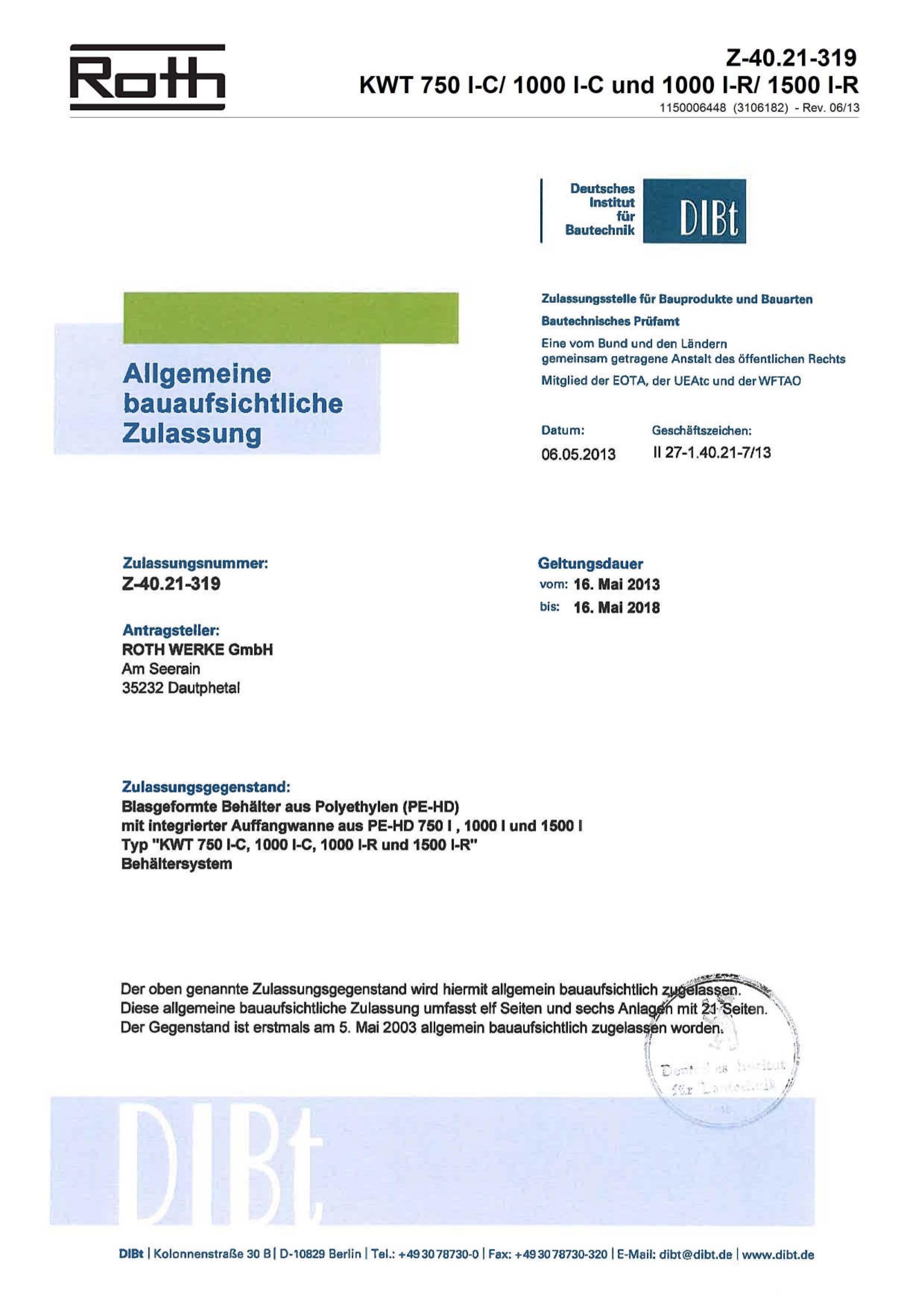 Certification Flowmont